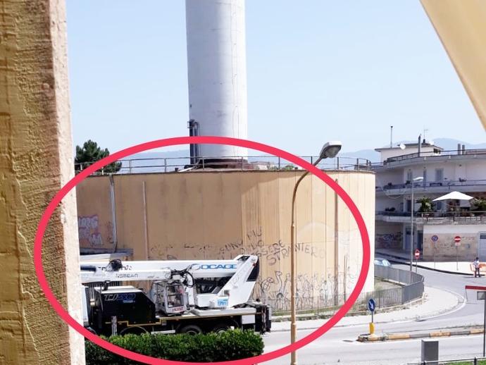 San Vitaliano, avviati i lavori di manutenzione del Fungo: strade interrotte