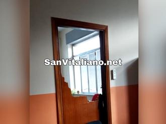 """Raid notturno presso il comando della Polizia Locale di San Vitaliano: """"Non ci faremo intimidire!"""""""