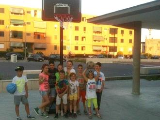 Il ricordo: Libera Basket San Vitaliano nel piazzale di Via Troisi