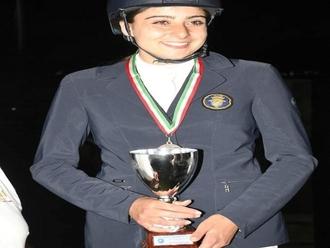 San Vitaliano, equitazione: Rosita Spiezia campionessa Regionale