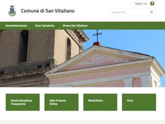 Il Sito del Comune di San Vitaliano cambia pelle: ecco la nuova piattaforma