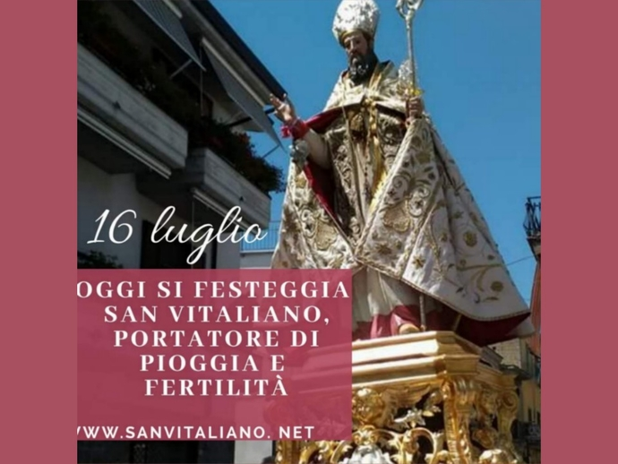 16 luglio: il Comune di San Vitaliano oggi è in festa !