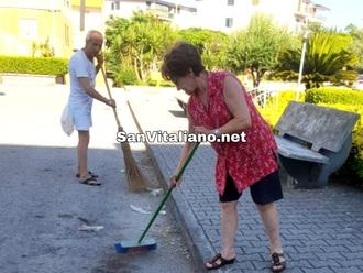 Amare San Vitaliano significa anche scendere in strada ed attivarsi...