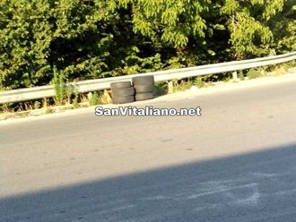 San Vitaliano, altro treno di gomme abbandonate: apriamo gli occhi, diventiamo sentinelle!!!