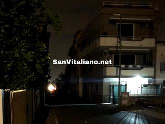 San Vitaliano, ennesima sera al buio: pago le tasse e pretendo strade illuminate e sicure