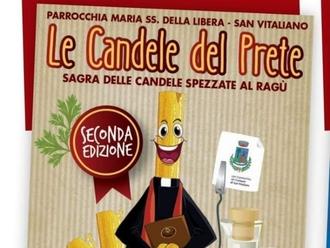 San Vitaliano, sabato sera in piazza per la sagra de LE CANDELE DEL PRETE: tutti gli appuntamenti...