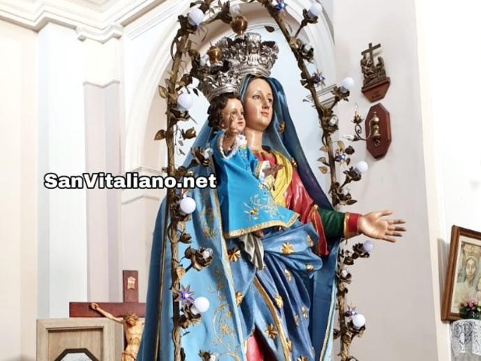 San Vitaliano, tutto pronto per la Processione della Madonna: partenza da Frascatoli