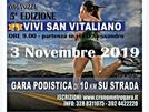 Vivi San Vitaliano, un fiume di runners colorerà tutto il paese il 3 novembre
