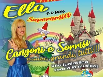 San Vitaliano, Ella e le canzoni di Cristina D'Avena:ecco una fantastica serata per adulti e piccini