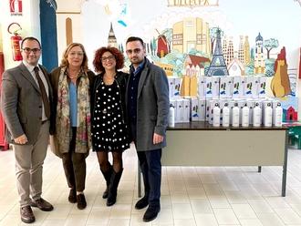 San Vitaliano verso il plasticfree: 300 borracce di alluminio a studenti e dipendenti comunali