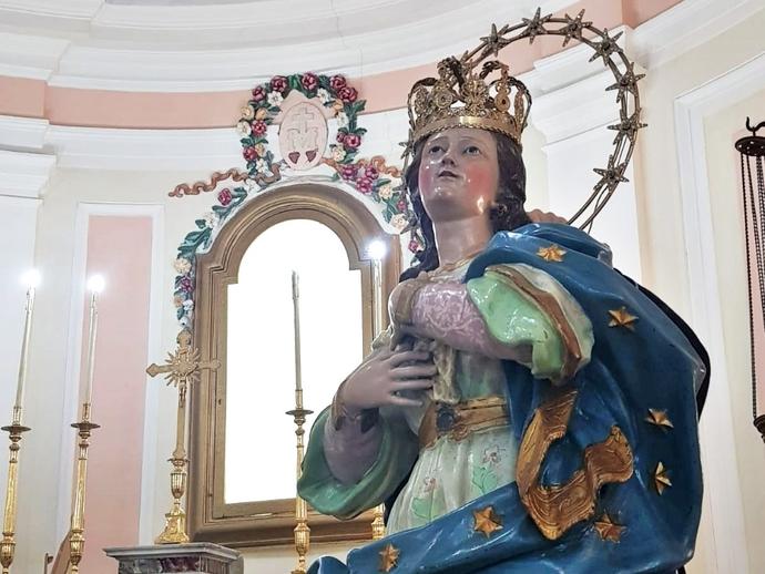 San Vitaliano, Congrega: scesa tra i fedeli la Madonna, pronta per la Processione dell