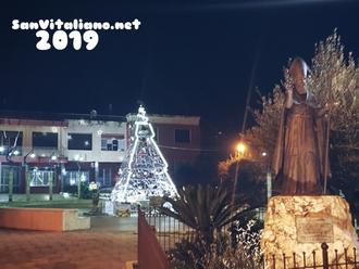 Natale a San Vitaliano: ecco Piazza Da Vinci