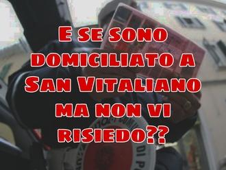 Ordinanza antiPM10 a San Vitaliano : io Domiciliato e non residente che fine faccio?