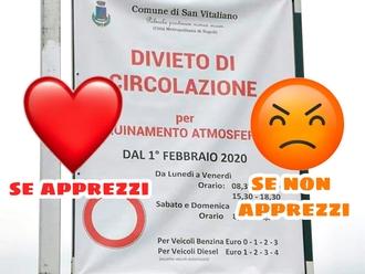 San Vitaliano, apprezzi o no il provvedimento antiPM10? Partecipa al sondaggio....