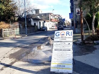 San Vitaliano, Corso Frascatoli: continuano i lavori ( ed alcuni disagi) per i lavori della GORI