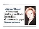 Siate caparbie come Carmen: ecco la sanvitalianese al centro della nostra festa della donna