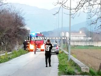 San Vitaliano, aria irrespirabile per un abbruciamento: chiamati i Pompieri