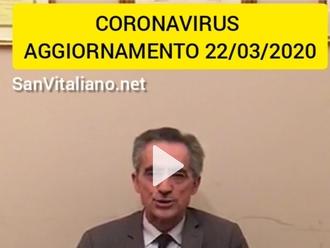 Coronavirus, gli aggiornamenti del Sindaco di San Vitaliano dott. Raimo