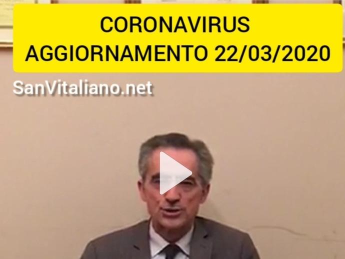 Coronavirus, 1° Contagiato a San Vitaliano: le parole del Sindaco Raimo