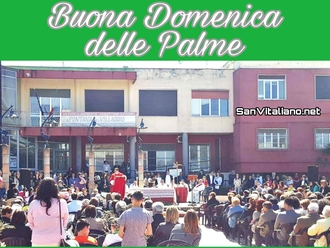 Buona Domenica delle Palme da SanVitaliano.net