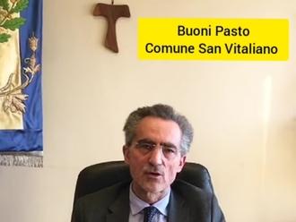 San Vitaliano, il Sindaco Raimo: aggiornamento su Buoni Spesa e Buona Domenica delle Palme