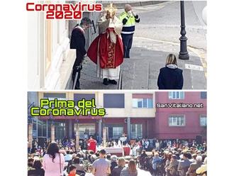 San Vitaliano, la Domenica delle Palme pre/durante il periodo Covid19