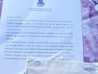 San Vitaliano, il Comune avvia la distribuzione delle mascherine