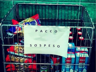 San Vitaliano, al via il pacco sospeso presso il Supermercato Tramontano