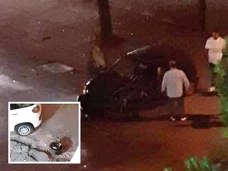 San Vitaliano, incidente su via Nazionale: di notte diventa una pista!