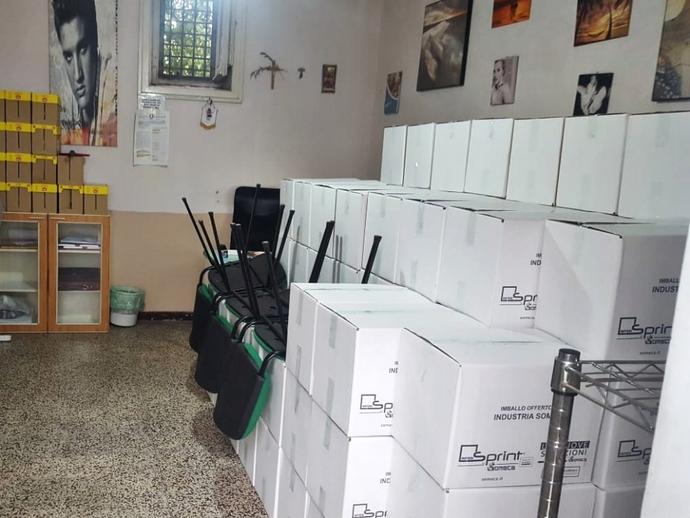 San Vitaliano, Pacchi alimentari di agosto pronti: la solidarietà dell
