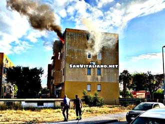 San Vitaliano, a fuoco appartamento: forza Gigi!