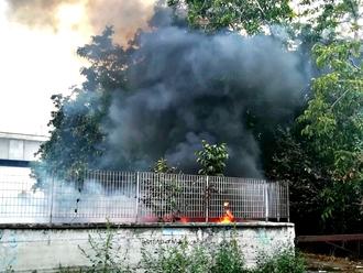 San Vitaliano, la Stazione brucia... ancora...