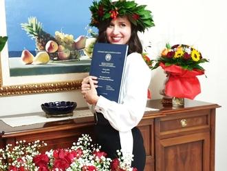 San Vitaliano, laurearsi in piena emergenza Covid: auguri alla dottoressa Laura De Chiara