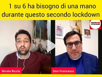 San Vitaliano, 1000 persone hanno bisogno di sostegno durante il secondo lockdown