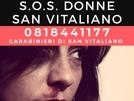 SOS DONNA a San Vitaliano: Chiama e fai finta di far la spesa