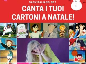 A Natale Canta con noi la sigla del tuo Cartone Animato preferito: al via il gioco-concorso