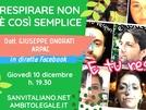 Respirare non è così semplice: SanVitaliano.net intervista in diretta l