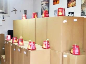 San Vitaliano, 270 pacchi alimentari e panettoncini per i più piccoli grazie a L