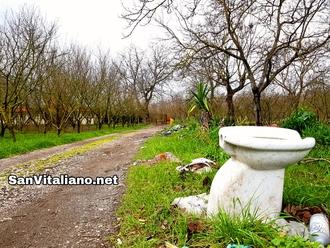 San Vitaliano, cesso su via Selva