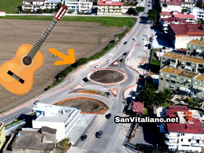 San Vitaliano, prime impressioni della nuova Rotonda della Chitarra ?