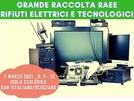 San Vitaliano, grande raccolta dei Rifiuti elettrici e tecnologici per domenica 7 marzo 2021 ( h 9 - 12)