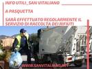 San Vitaliano, domani raccolta differenziata regolare