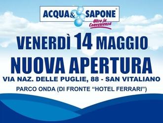 San Vitaliano, Via Nazionale attira anche ACQUA E SAPONE: apertura fissata per domani