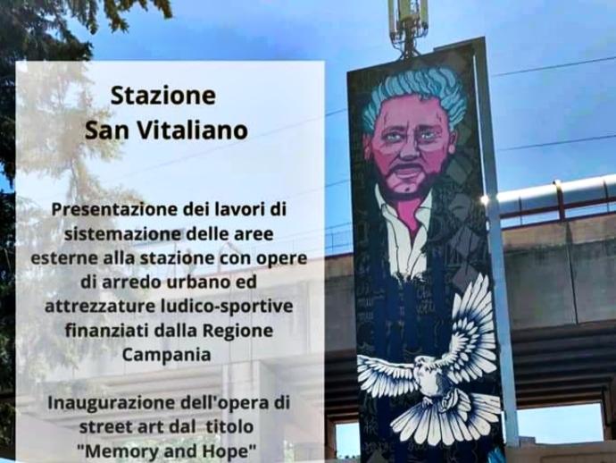Finiti i lavori di restyling della Stazione a San Vitaliano, stamattina l