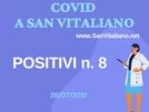 Covid a San Vitaliano: 8 positivi, dati in leggero aumento...