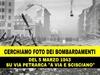 Cerchiamo fotografie dei bombardamenti su San Vitaliano del 1943