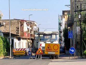 San Vitaliano, al via i lavori su via Taverna delle Zoccole (via Frascatoli): paga la Provincia