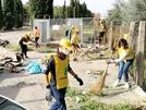 I sanvitalianesi puliscono San Vitaliano nella giornata di Legambiente